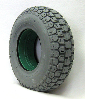 "13"" x 4"" (4.10/3.50-6) Foam-Filled Tire With Ability Tread C168 (Bruno/Pride) Side View"