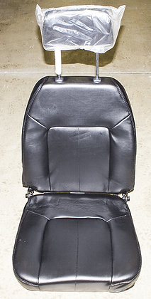 Black Seat Assembly for the Shoprider Streamer Sport (888WAB) Front View