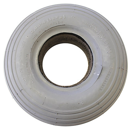 "10"" x 3""(3.00-4)(260x85) Foam-Filled Tire with C179 Spirit Tread (Primo) Side View"