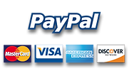 We accept PayPal and most credit cards for payment