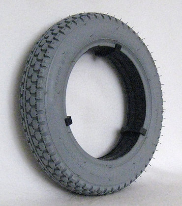 "13"" x 2.50""(2.50-8) Foam-Filled Tire With Knobby Power Plant Tread C177 Side View"