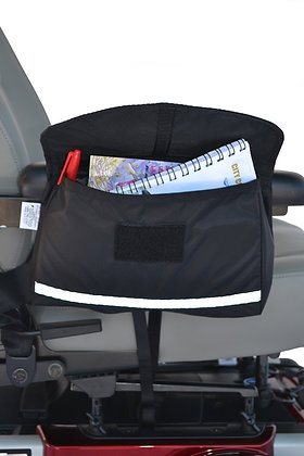 Standard Armrest Saddle Bag for Mobility Scooters and Power Chairs (Diestco) Main View