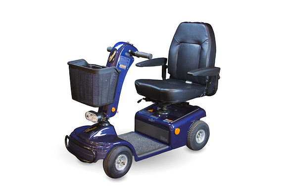 Shoprider Sunrunner 4 Mid-Size Mobility Scooter Blue Color Option