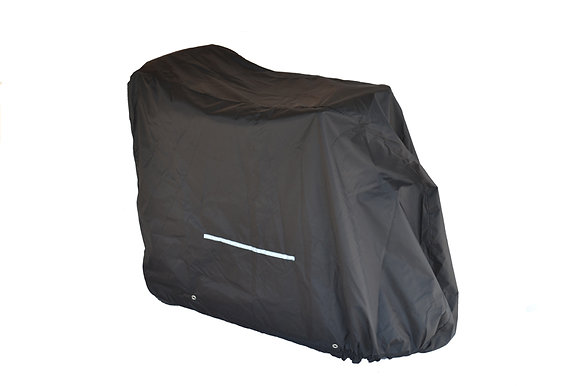 Standard Weatherproof Cover for Mobility Scooters (Multiple Sizes) Side Profile View