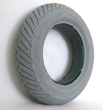"14"" x 3"" (3.00-8) Foam-Filled Tire With Access V Groove Tread C917 Side View"