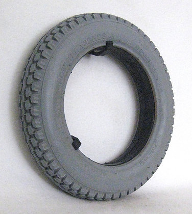 """12-1/2"""" x 2-1/4"""" Foam-Filled Tire with C628 Knobby Tread (Primo) Side View"""