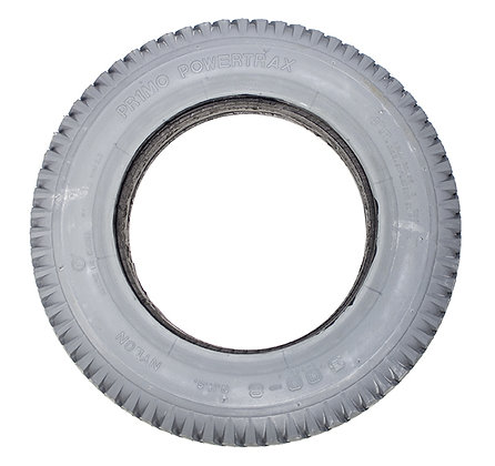 """14""""x 3"""" (3.00-8) Foam-Filled Tire with Powertrax Tread C248 (Primo)(1.75"""" B2B) Side View"""