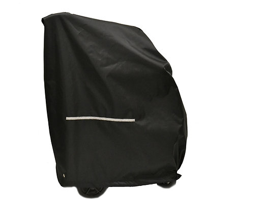 Weatherproof Cover for Manual Wheelchairs Side View