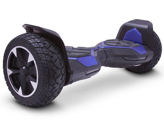 MotoTec Self Balancing Ninja 36v 8.5in Blue Side Profile View