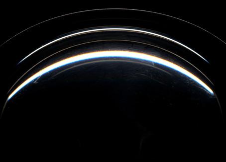 A Space Odyssey oder Die mysteriösen Spiegelungen eines Pfannendeckels