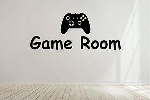 Game Room Custom Wall Decal