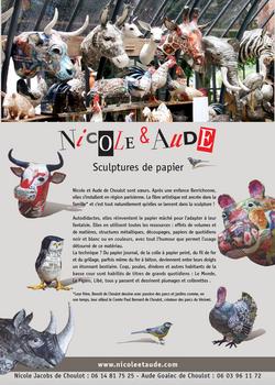 Dossier de Presse - Nicole et Aude
