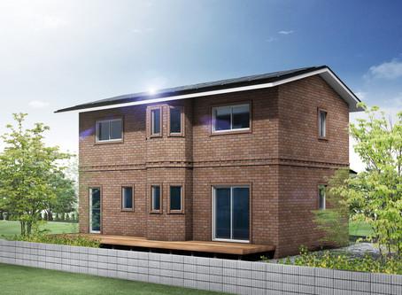 北海道仕様の高断熱+高気密のレンガの家