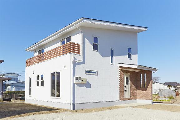 大容量太陽光の家
