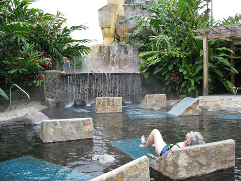 Hot Springs Getaway- Costa Rica-Deposit
