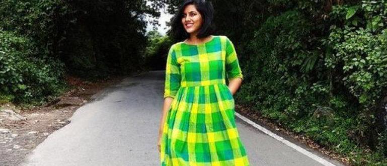 Women's Printed Khadi Cotton Dresses