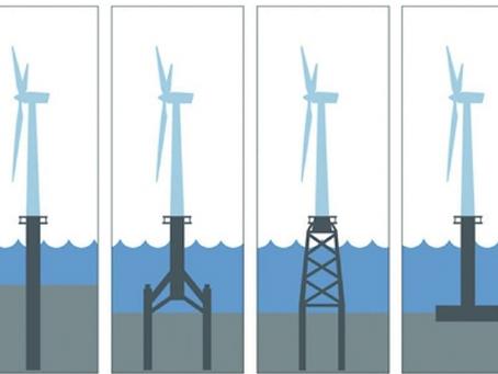 離岸風力機的雙腳,水下基礎技術初探