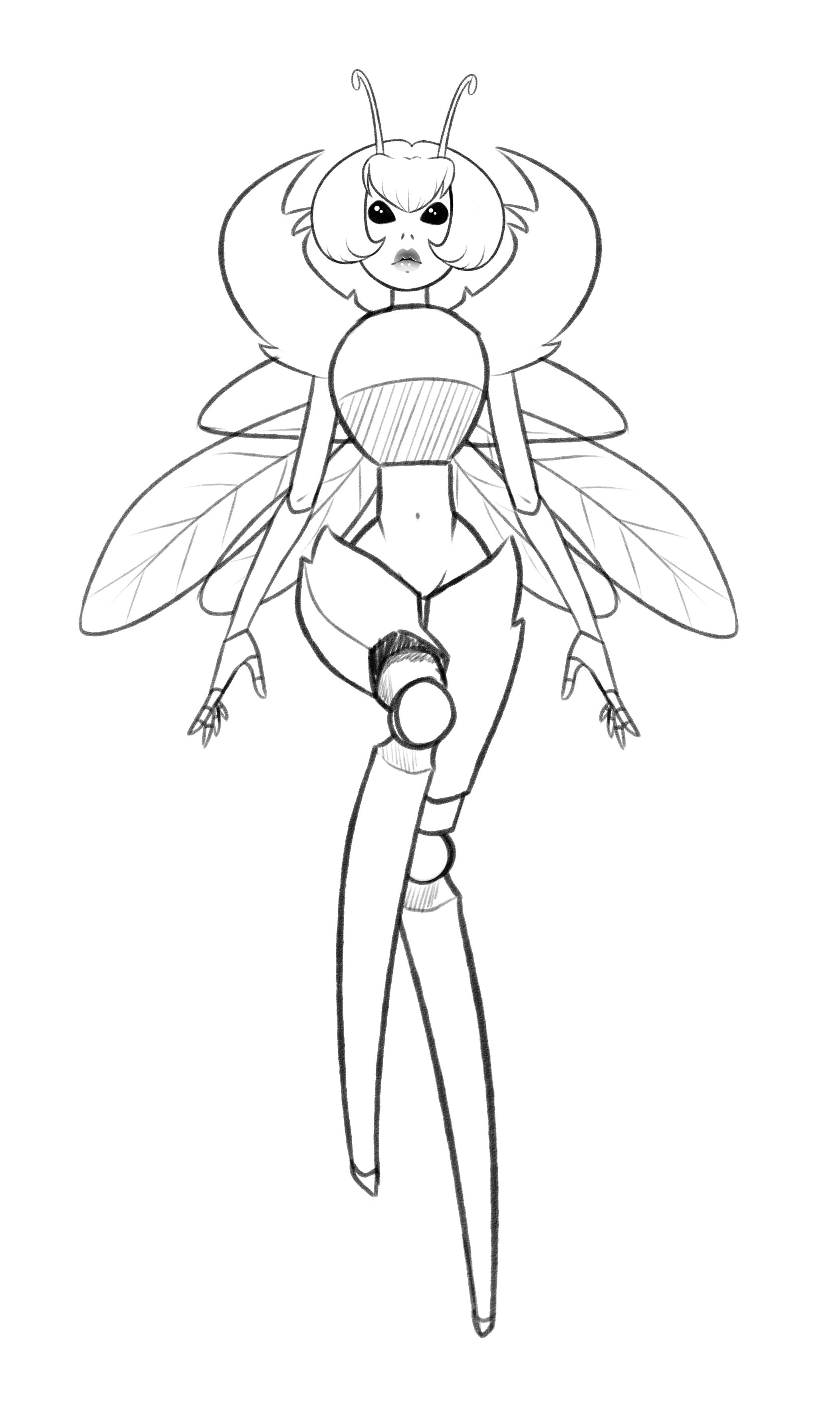 battle bug concept