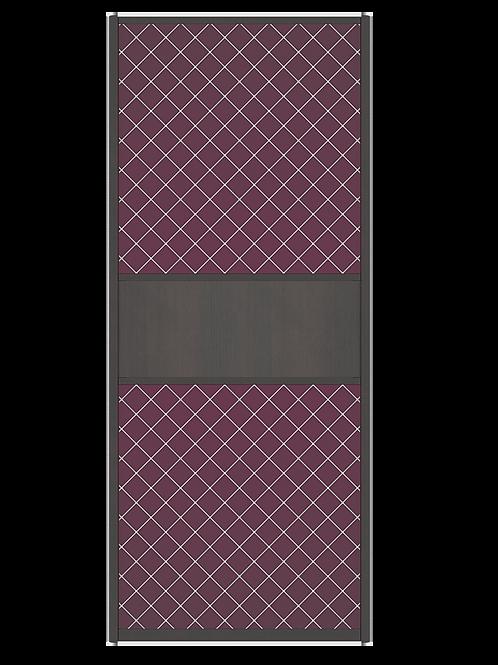Дверь-купе с декором