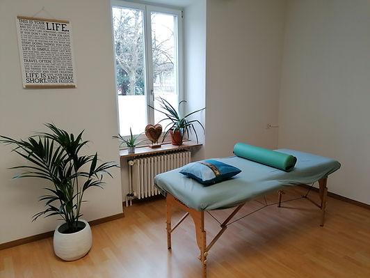 Praxisraum Fenster positive mindset Winterthur