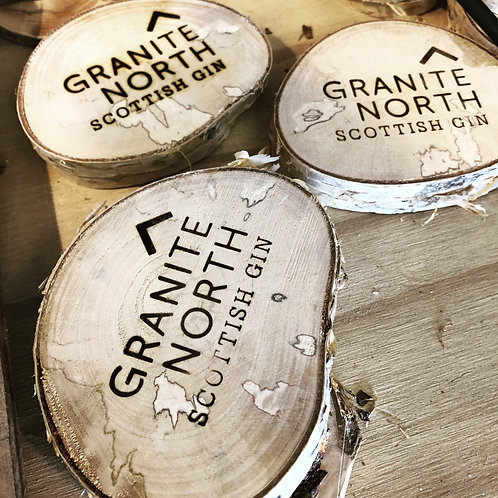 Granite North Coasters - pack of 2