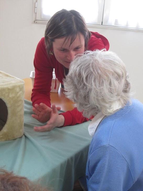 Moment de partage durant un atelier