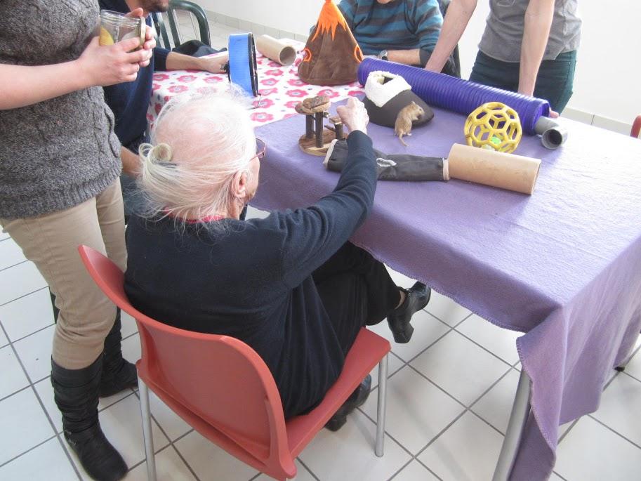 Médiation animale et personnes âgées
