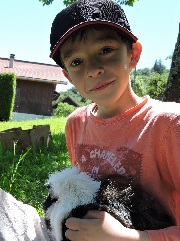 Régis et les animaux d'Amidoux