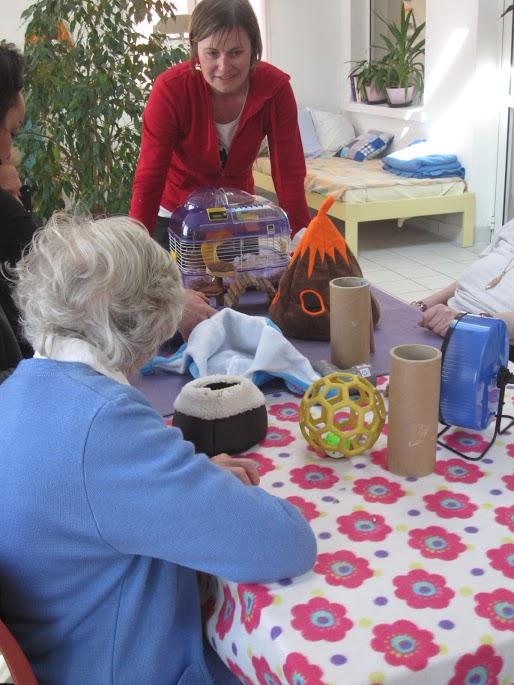 Atelier pour les personnes âgées