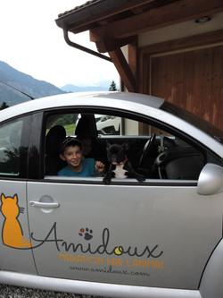 En voiture avec Lulu