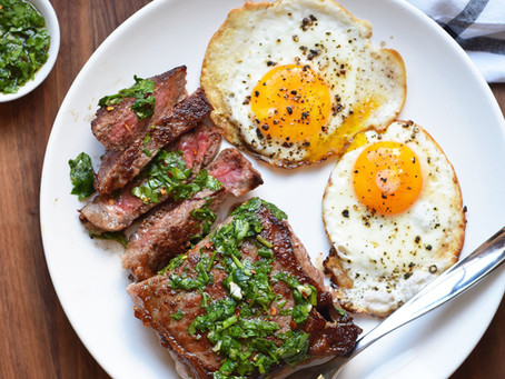 Steak For Breakfast - A controversial flip of the norms or your next go to?