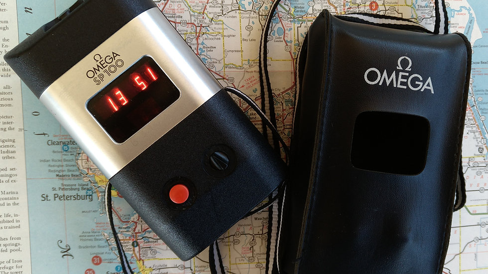 NOS OMEGA SP-100 LED STOPWATCH