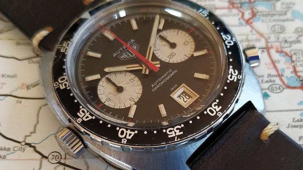 HEUER AUTAVIA 1163 MH DEREK BELL MK4 1971 CHRONOGRAPH