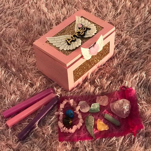 Crystals Angel Box