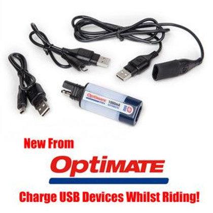 Optimate SAE100 USB Charger