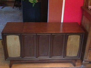Vintage Record Player Consoles