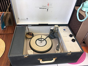Vintage Portable Record Players