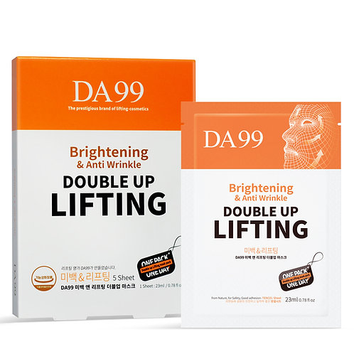 DA99 BRIGHTENING AND LIFTING DOUBLE UP MASK