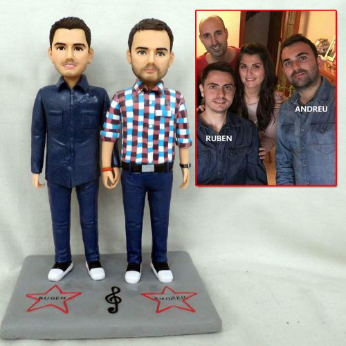personalized clay figurine homosexual co
