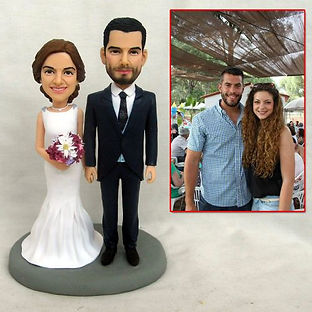 custom wedding cake topper happy bride a