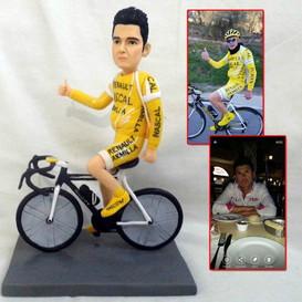 personalized clay figurine cyclist.jpg