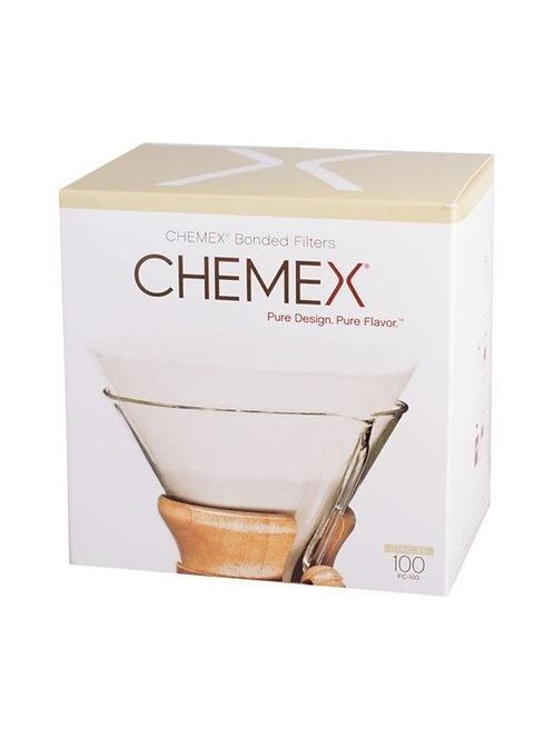 Chemex, filters geplooid (3-5 cup)