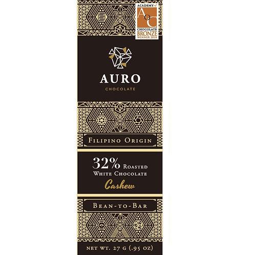 AURO 32% White & Cashew (S)