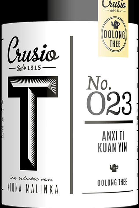 Crusio, Anxi Ti Kuan Yin - oolong, blik