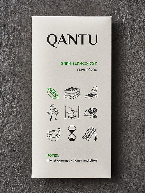Qantu Gran Blanco 70% Peru
