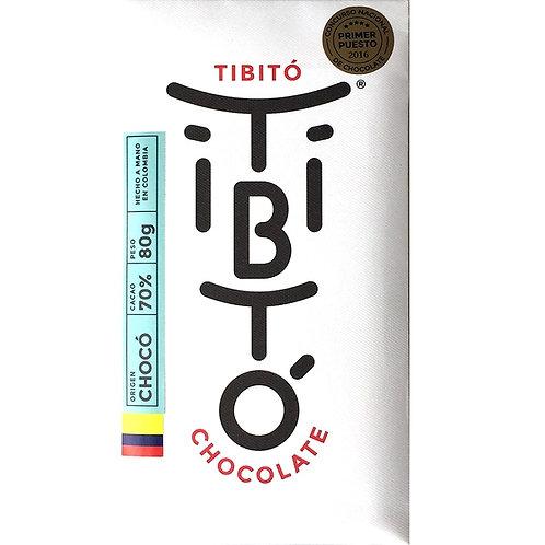 Tibito 70% Chocó