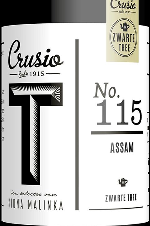 Crusio, Assam - Zwart, blik