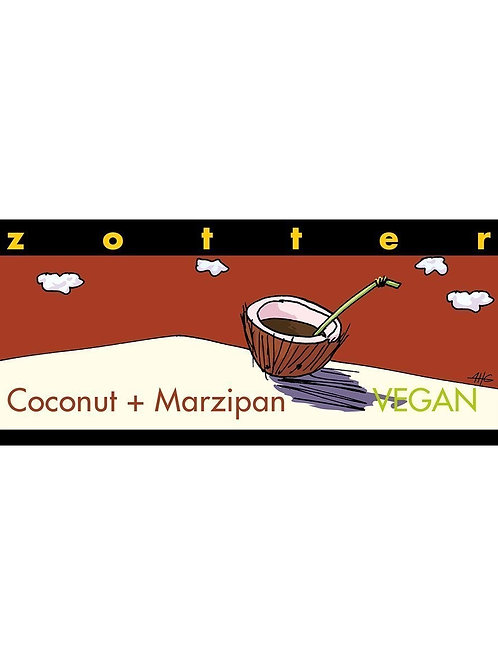 Zotter - Coconut & Marzipan 70%