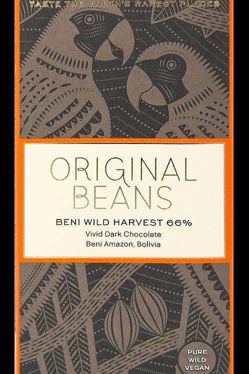Original Beans 66% Beni Wild Harvest