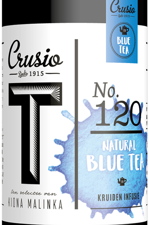 Blue Tea - infusie, blik